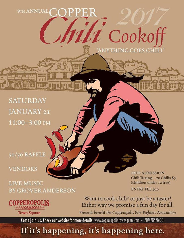 Get Your Chili Pots Ready!!  Break Out The Old Family Recipe & Get Cooking!!