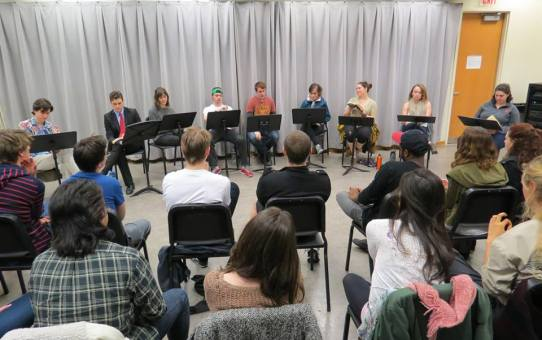 CCM Drama Hosts Play Reading Series