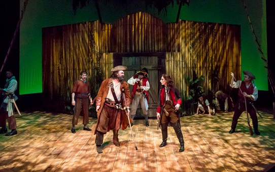 REVIEW: Ken Ludwig's Treasure Island
