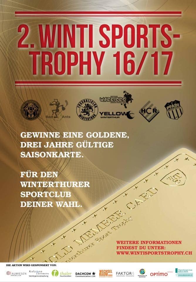 Winti Sports Trophy - Warriors wieder dabei