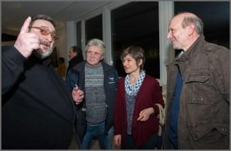 Yves Bassi (Erster von links)