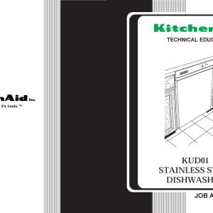 Kitchenaid Dishwasher Models
