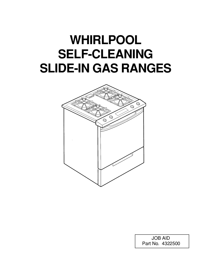 Bestseller: Owners Manual For Whirlpool Gas Stove