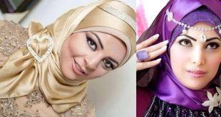 لفات حجاب تركي اجمل مجموعه لفات طرح شيك صبايا كيوت
