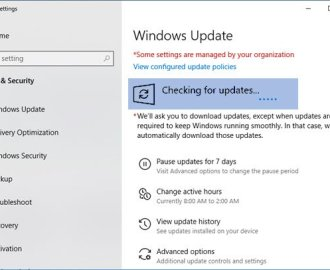 windows 10 update stuck on checking for updates