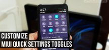 MIUI Quick Settings Toggles