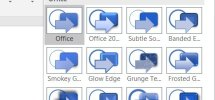 How to change document theme colors in Microsoft Office programs