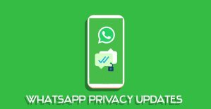 whatsapp privacy updates