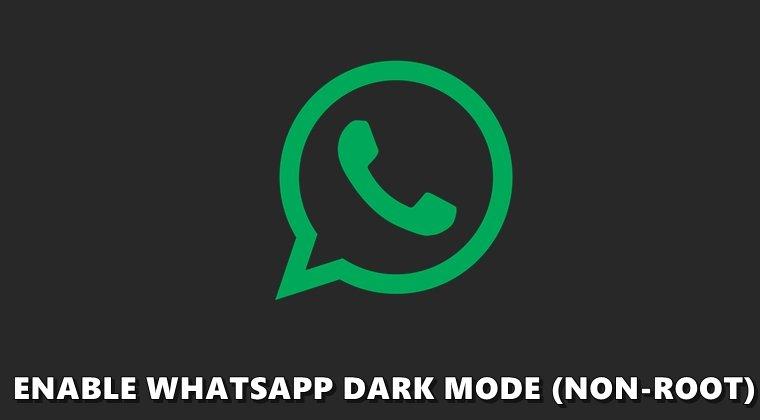 whatsapp dark mode bug