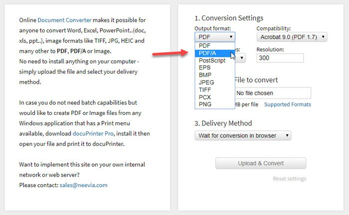 Best online PDF to PDF/A converter tools