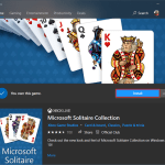 Can't open the Microsoft Solitaire collection in Windows 10