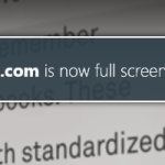How to disable Now Fullscreen warning message in Firefox