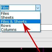 说明: Merge Excel files and worksheets