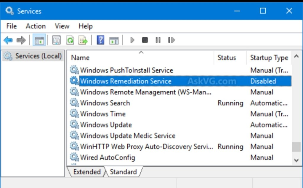 Windows Setup Remediation: How to Remove it?