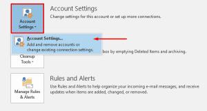 fix Outlook Error 0x800ccc0e on Windows 10