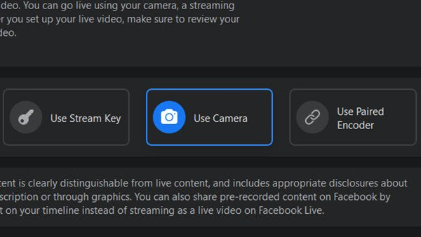 How to stream Yourself and your Mobile Video Games on Facebook Live