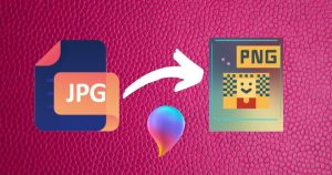 How to Convert JPG to PNG in Paint 3D on Windows PC