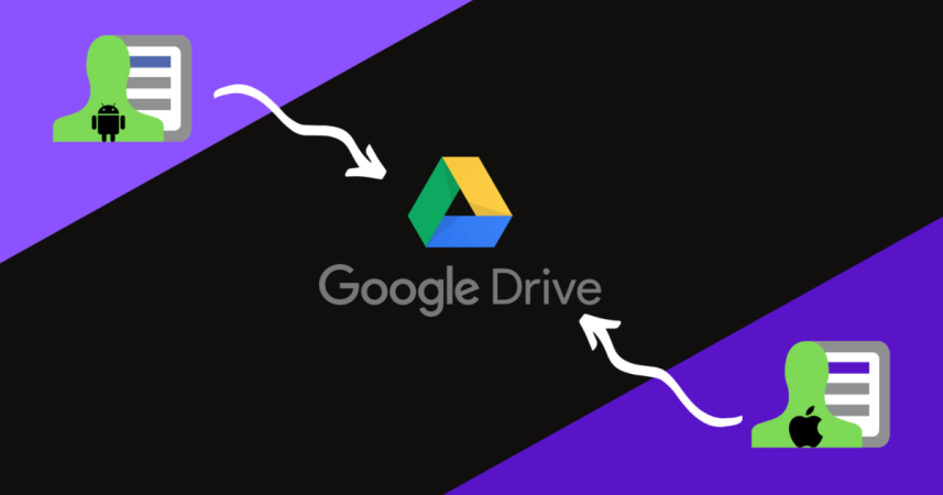 How to Backup Contacts From Android and iPhone to Google Drive