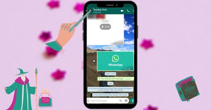 What Is Meant by Disappearing Messages Were Turned off in WhatsApp