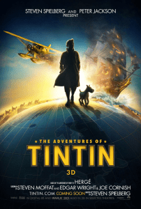 Tintin Movie Poster