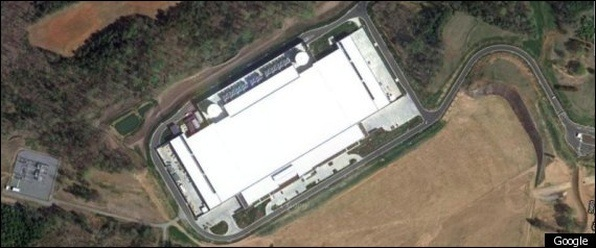 Apple data center in Maiden, North Carolina, USA.