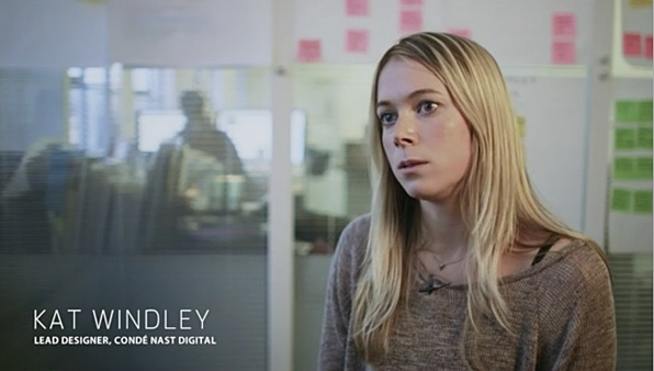 Kat Windley, lead designer at Condé Nast Digital