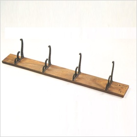 Coat rack by Marcel Duchamp