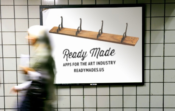Ready Made subway billboard