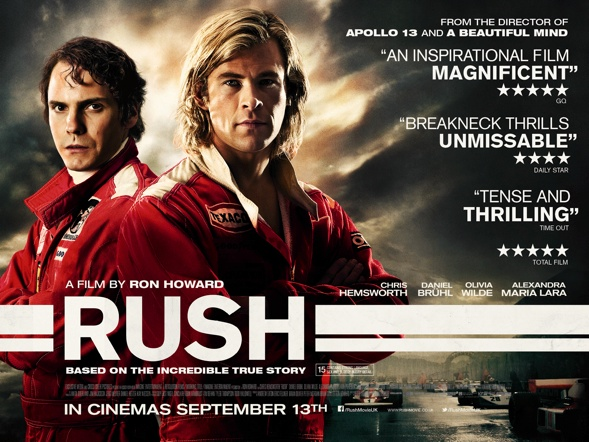 'Rush' movie poster