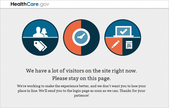 We have a lot of visitors on the site right now. Please stay on this page.