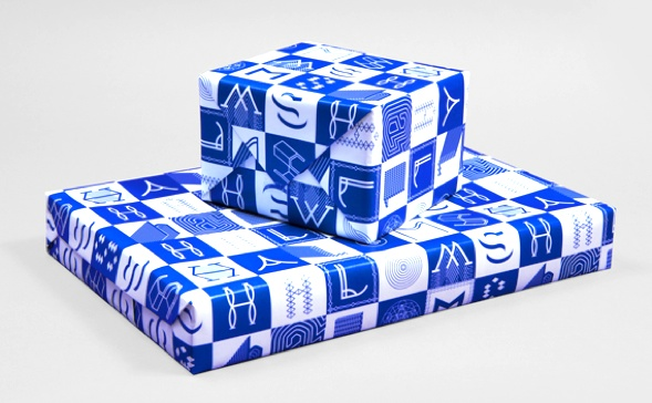 JM Wrapping paper