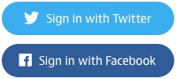 Sign in with Twitter Sign in with Facebook