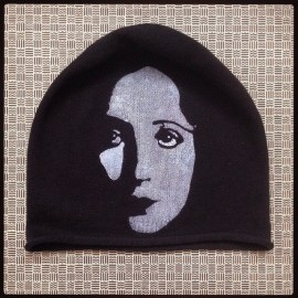 Anais Nin  #icon #stenciled #graffitibeanie