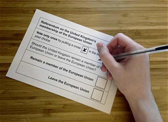 best practice in usability, the British ballot