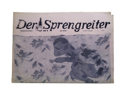 Der Sprengreiter №4 Peace by Michaela Melián.