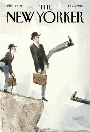 Barry Blitt cover for the New Yorker magazine July 2016