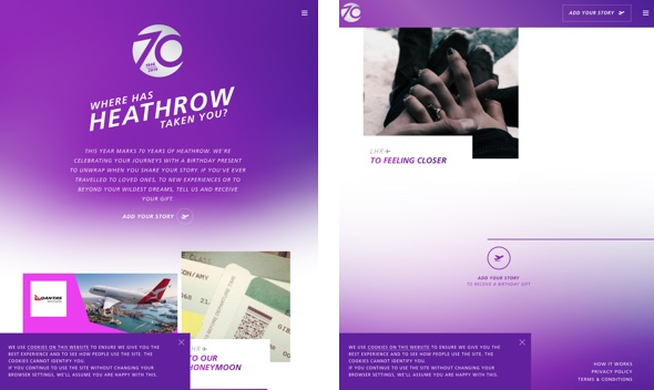 70 years of Heathrow airport
