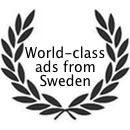 World-class ads from Sweden
