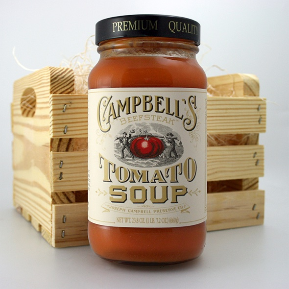 Cambell's Beefsteak Tomato Soup ©Edelman