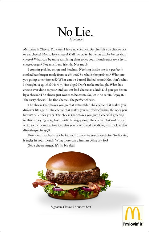 McDonald's Alternative Fact Ad