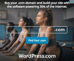 Ad for WordPress.com