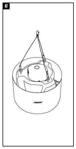 Bose FreeSpace® DSF + Pendant Hanging Kit White or Black