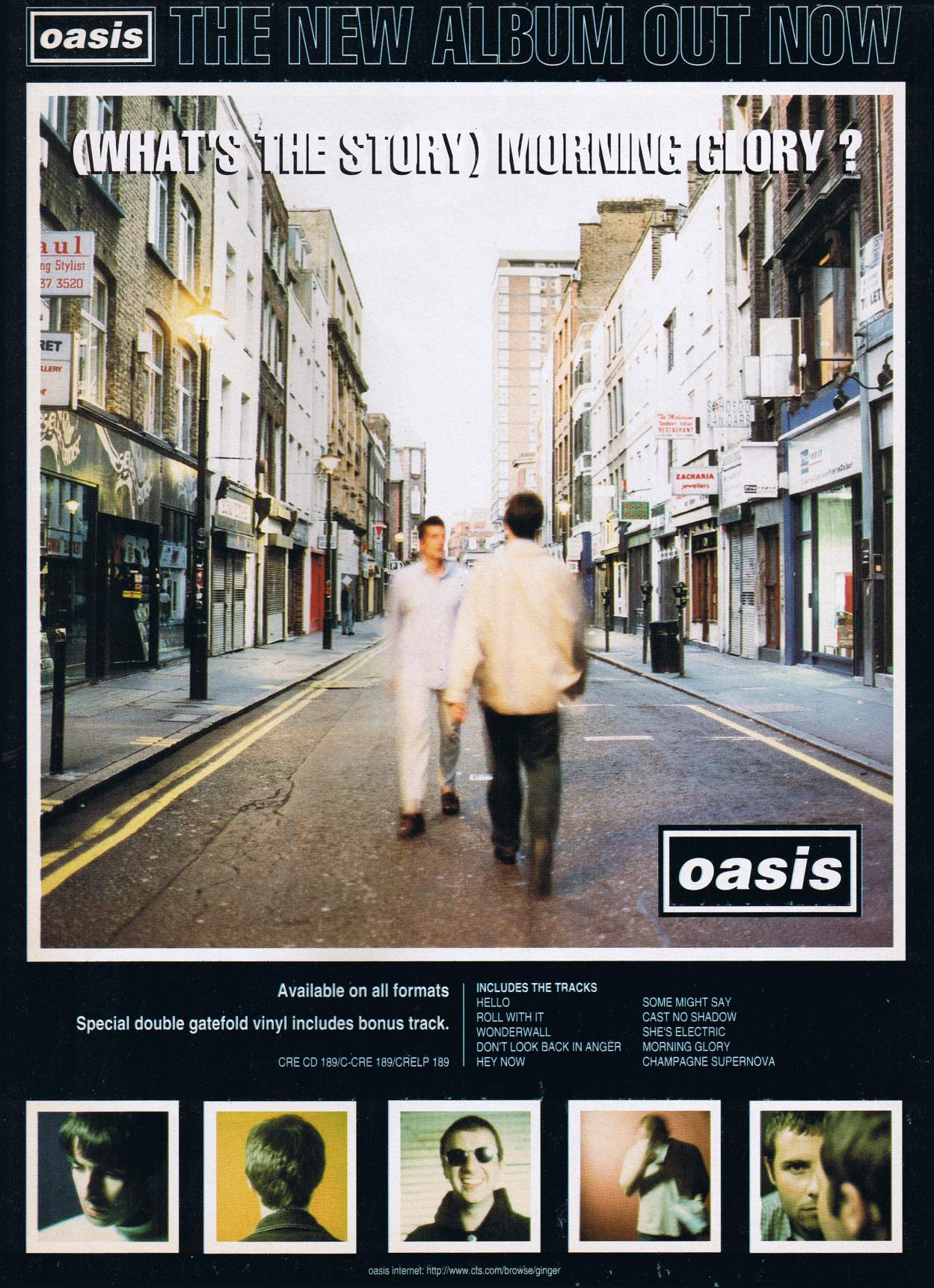 Oasis Hd Wallpaper Oasis What S The Story Morning Glory The New Album