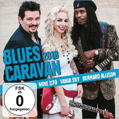 Mike Zito, Vanja Sky, Bernard Allison – Blues Caravan 2018 (2018) Mp3