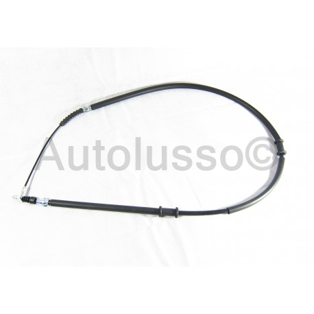 Passenger side hand brake cable for the Alfa Romeo 147 models.