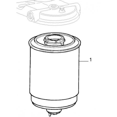 Genuine Alfa Romeo Fuel Filter for the Giulia Models.