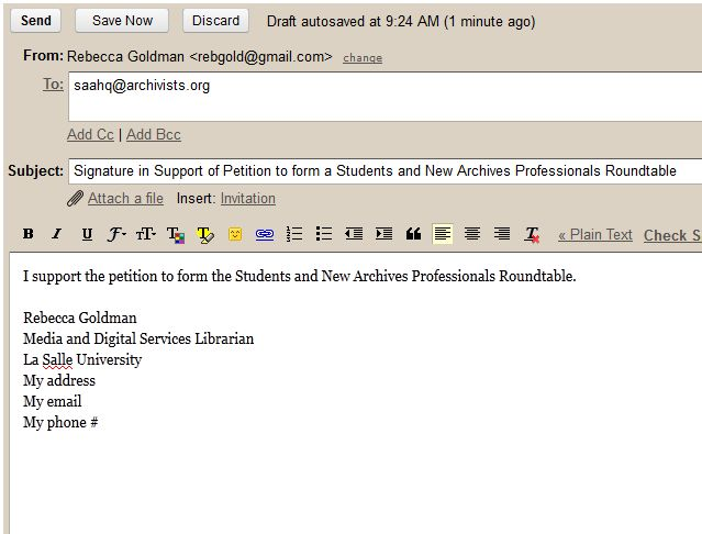email signatures for students
