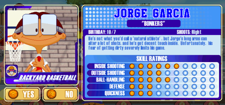 RANKED The 29 Best Players from the Backyard Sports Series  New Arena