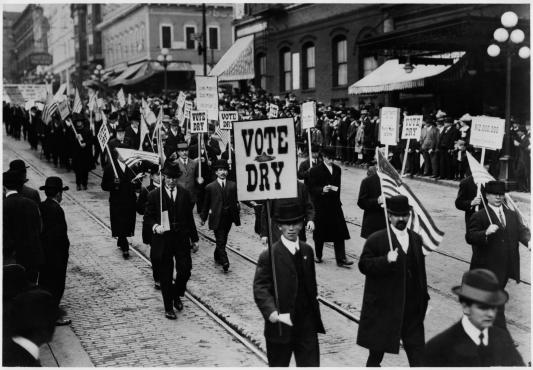 1910s - Temperance Movement
