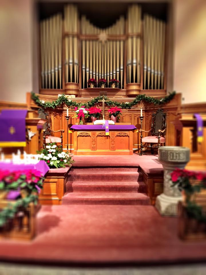 Newarek FUMC Sanctuary Christmas